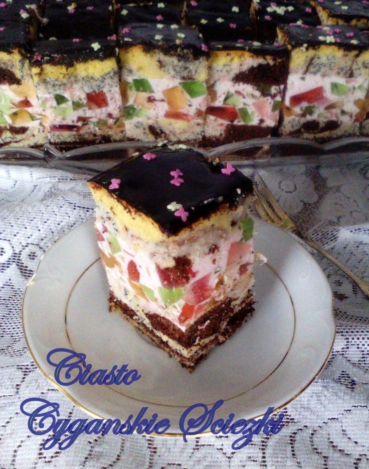 Ciasto Cygańskie Ścieżki PRZEPIS
