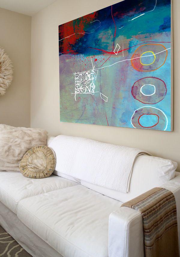 Abstract artwork by Artist Khalid Shahin