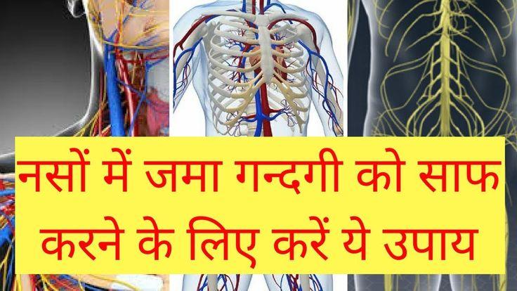 नसों में जमा गन्दगी को साफ करने के लिये घरेलू उपाय Sharir ki gandagi saa...