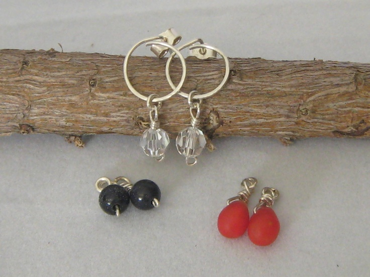 Sterling Silver Changeable Dangle. $35.00, via Etsy.