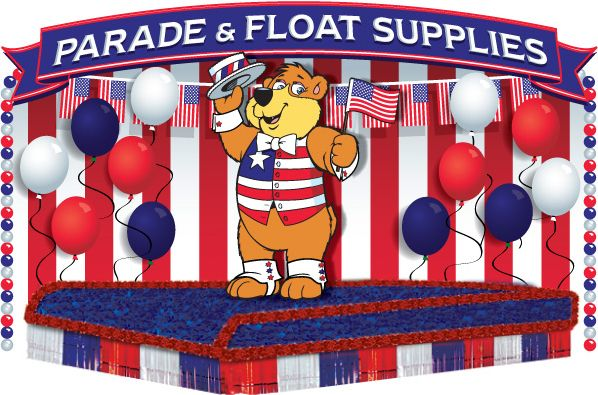parade floats | Float supplies, float sheeting, float drape, floral sheeting, float ... Funcarnival