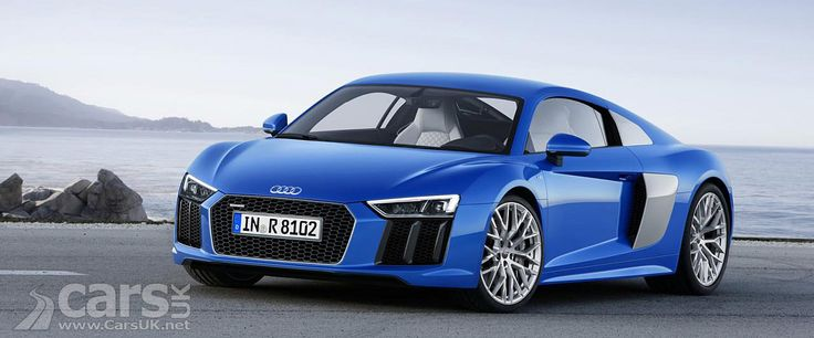 The new Audi R8 has been revealed ahead of its debut at the 2015 Geneva Motor Show with a new look and only V10 engine options with 533bhp or 602bhp. http://www.carsuk.net/2015-audi-r8-revealed-and-its-v10-only/