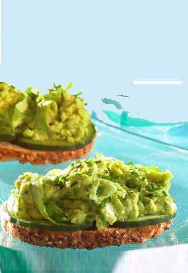 Tartine à l'avocat : recette de tartine rapide, végétarienne - Recettes de tartines : recette simple et rapide de tartine