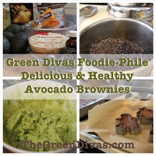 Dr. Oz Approved Delicious Gluten-Free Avocado Brownies - #Recipe #GlutenFree #GreenDivas