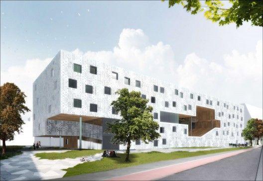 Student Housing for TU Delft Campus / Studioninedots + HVDN