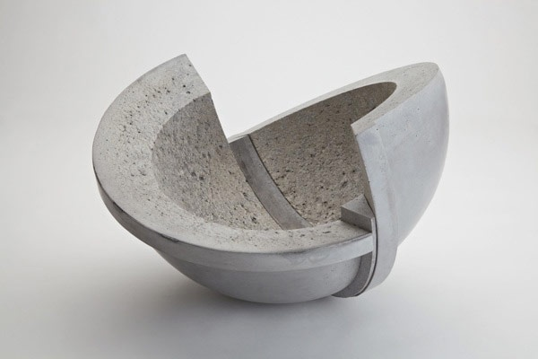 The works of Jo Woffinden: Concrete Art, Ceramics Design, Art Concrete, 100 Form, Gardens Art, Concrete Design, Curves Geometry, Baroque Series, Ceramics Form