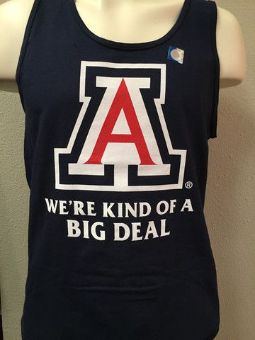 "University of Arizona Wildcats Men's Tank - ""Kind of a Big Deal"" – The Cat Cart"