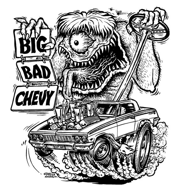 Rat Rod Coloring Pages Google Search Coloring Pinterest Rat Fink Coloring Pages