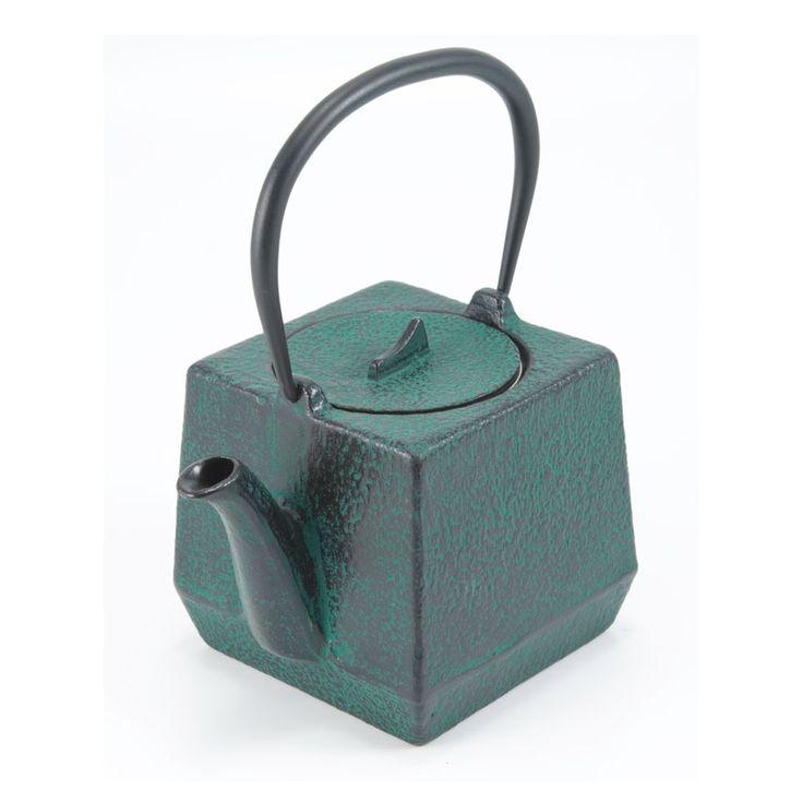 Chiba Teapot, Green, Satake