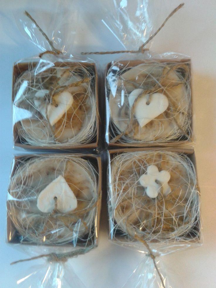 Orechovo - vanilkové mydlo