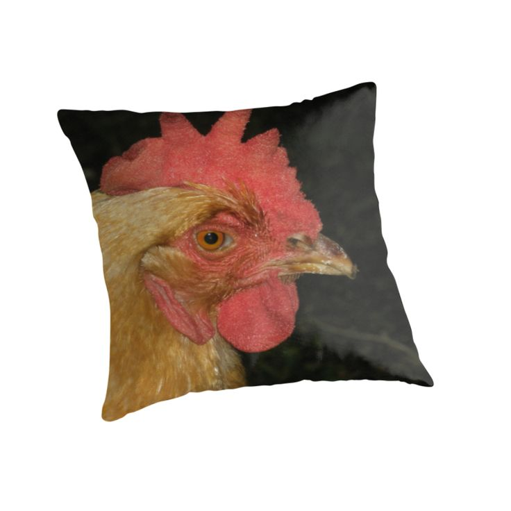 Goldie Hen Cushion by Melissa Park #hen #hencushion #countryhome #countrydecor #chicken #designer #unique #homedecor #pillow #cushion #uniquecushion