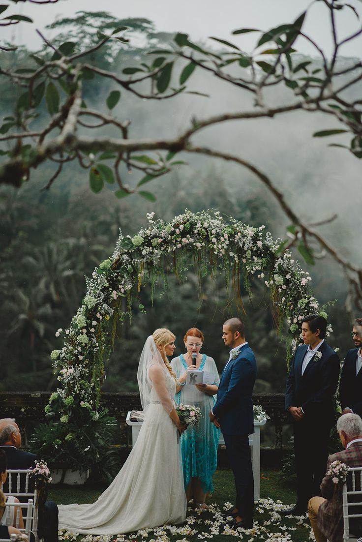 Misty Rainforest Wedding At Puri Wulandari, Ubud