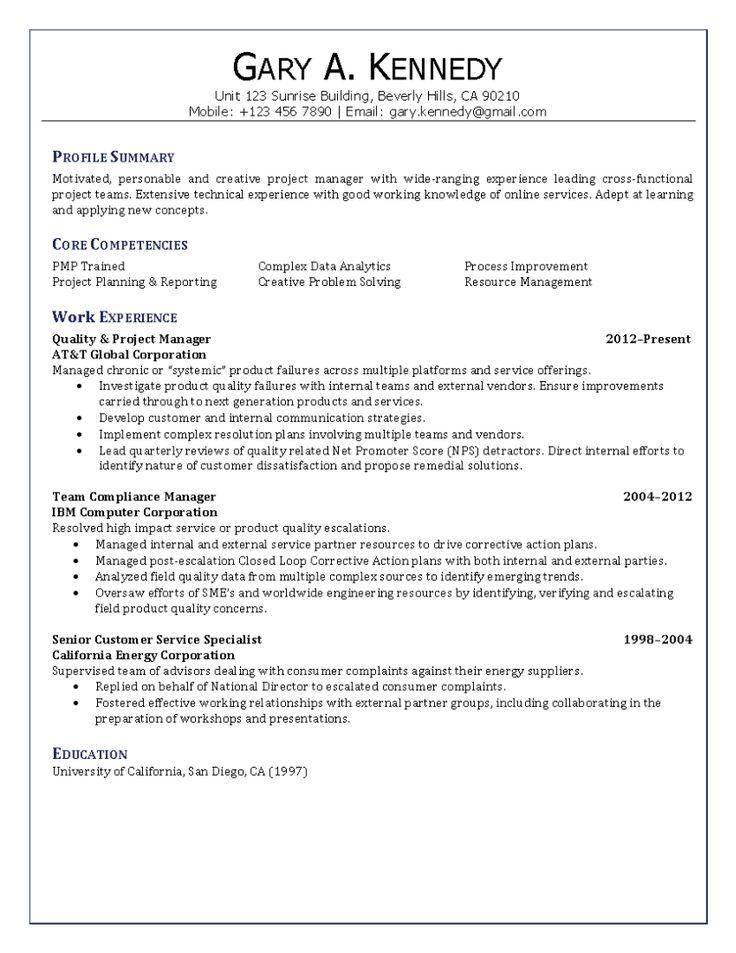 Více než 25 jedinečných nápadů na téma Free resume maker na - sample project planning