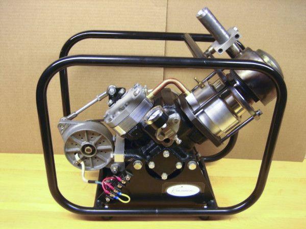 SV-2 MK II Stirling engine generator assembled 1