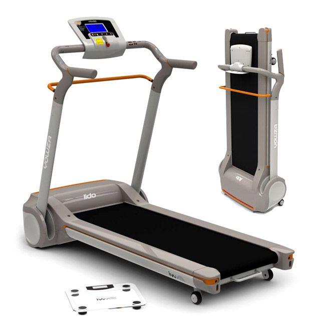 Yowza Fitness Compact Treadmill