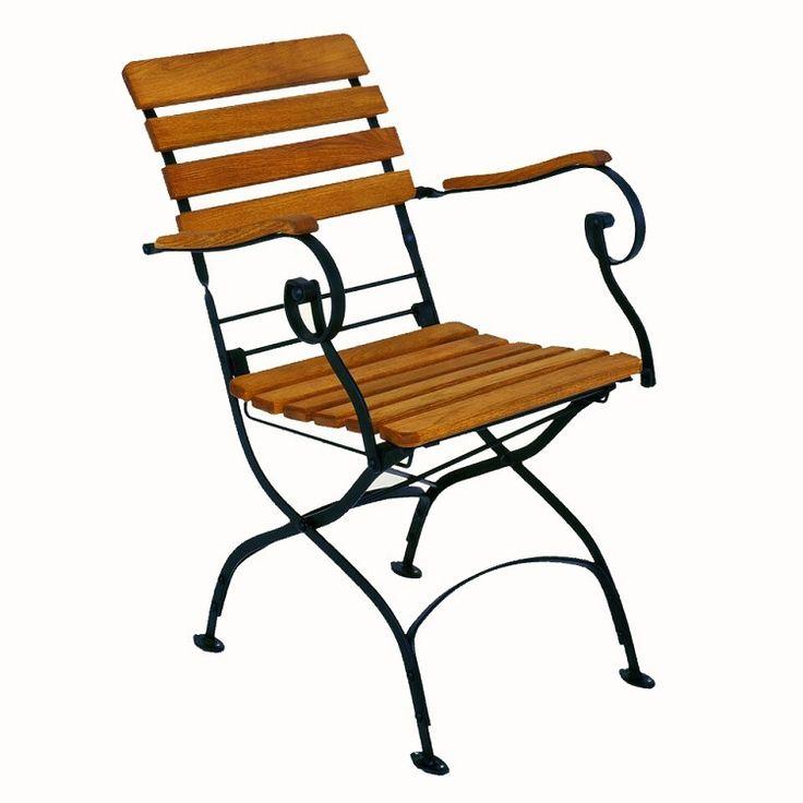 Haste Garden Rebecca Folding Arm Patio Chair
