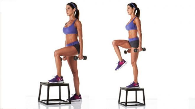Top 25 Ideas About Fitness Legs Ball Amp Step On