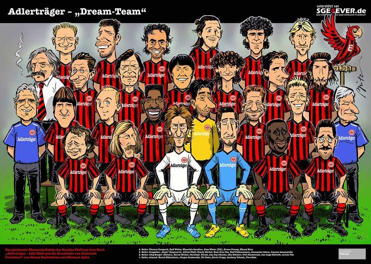 Hier ist es: Das Adlerträger-Dream-Team-Mannschaftsfoto | SGE4EVER.de - Das Onlinemagazin über Eintracht Frankfurt