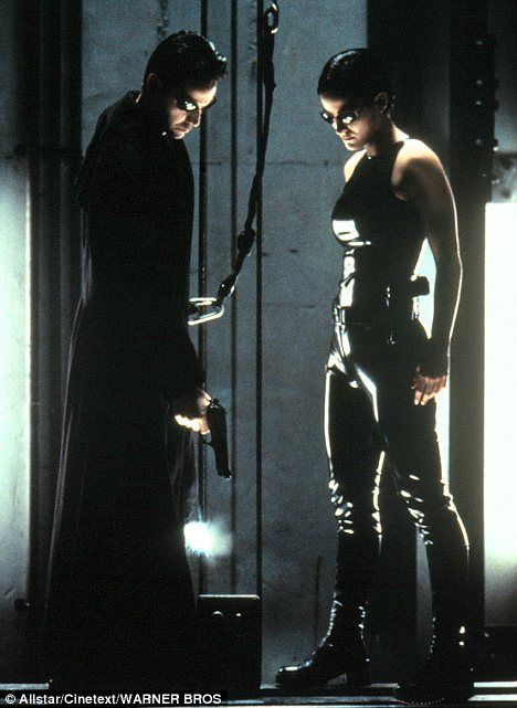 The Matrix Reloaded Trinity Carrie Anne Moss The
