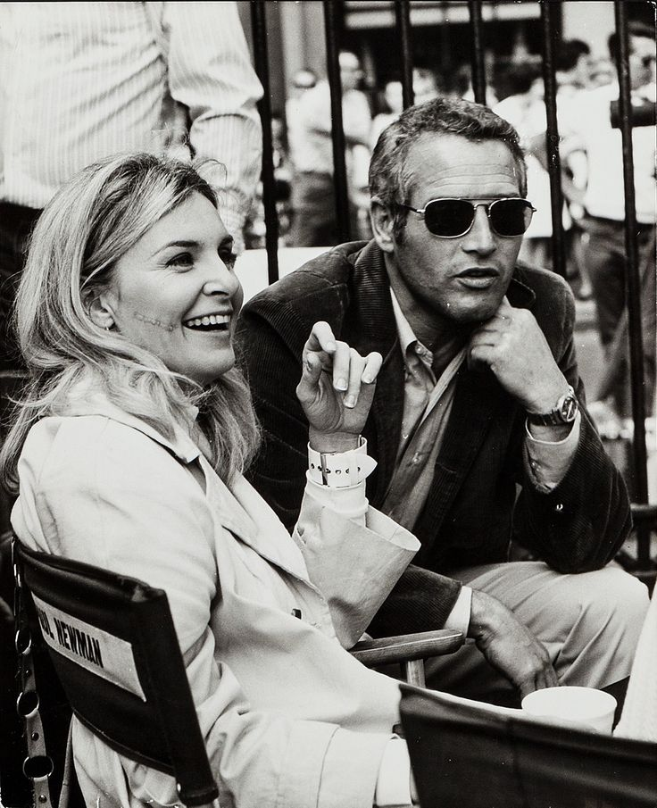 Paul Newman + Joanne Woodward