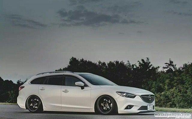 Mazda 6 wagon slammed