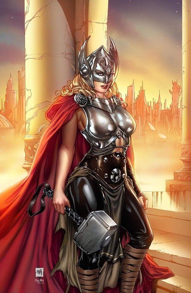 female thor - 528×810