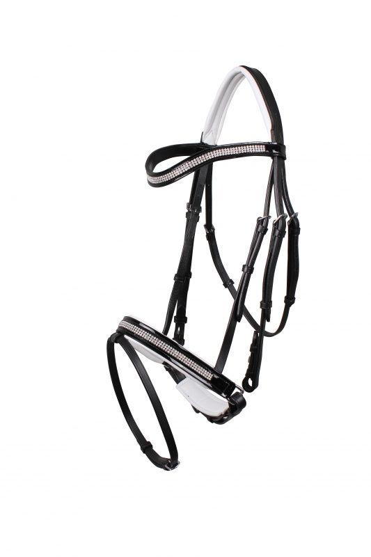 QHP Mimas Leather Bridle