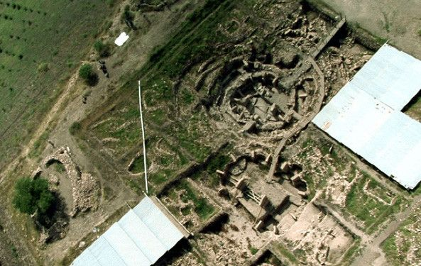 Predating Stonehenge by 6,000 years, Turkey's Gobekli Tepe is the oldest monumental architecture on the planet and upends the conventional view of the rise of civilization. Description from pinterest.com. I searched for this on bing.com/images