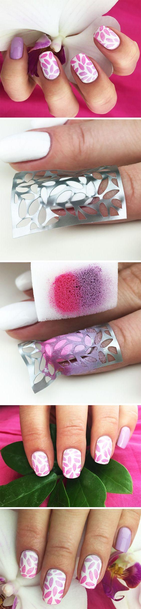 Haz tus propios diseños de #uñas sin tener que ir al salón de belleza. #DIY #DiseñoDeUñas #Nails #NailArt #HazloTúMisma