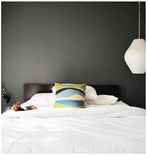 simple grey wall