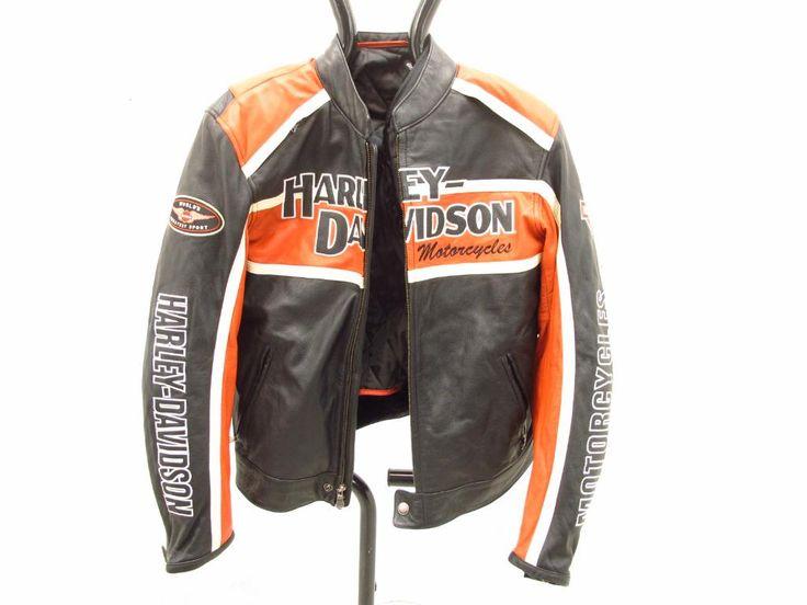 Feel Like a Biker in a Harley Davidson Men's Leather Jacket starts at $1 http://www.propertyroom.com/listing.aspx?l=9752286