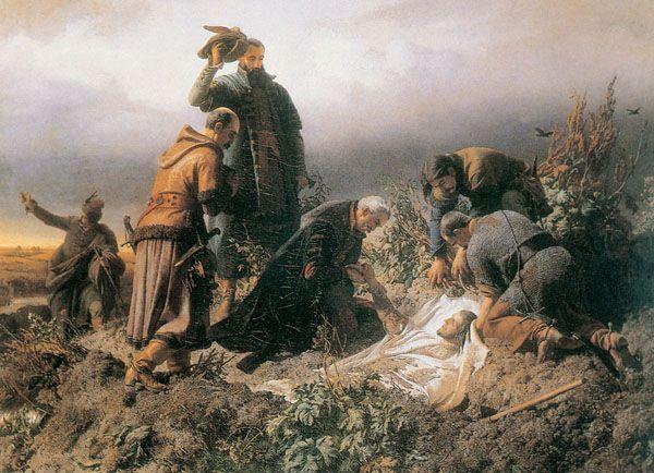 Székely Bertalan (Kolozsvár, 1835—Budapest, 1910) II. Lajos király holttestének…