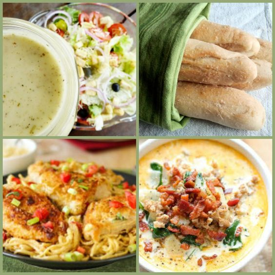 29 Copycat Olive Garden Recipes and Other Italian Recipes | Olive Garden breadsticks, salad, soup, and pasta recipes... These copycat recipes taste just like the things you'd order off of the Olive Garden menu.