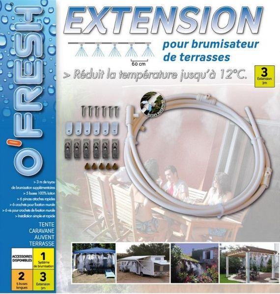 Extension prolongateur 3 mètres pour brumisateur de terrasse O'FRESH ®  http://deco-maison-fr.com/article/1165/extension-prolongateur-3-metres-pour-brumisateur-de-terrasse-o-fresh#sthash.fkDY3zQN.dpbs