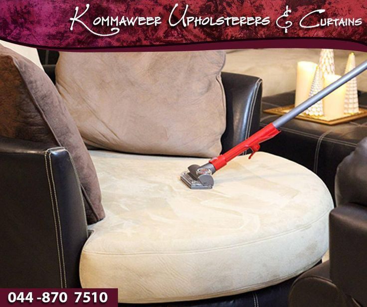 #LifeHack When cleaning your upholstery, vacuum the piece first. This will remove any dust and dirt on the top layer of the upholstery.#KommaweerUpholsterers