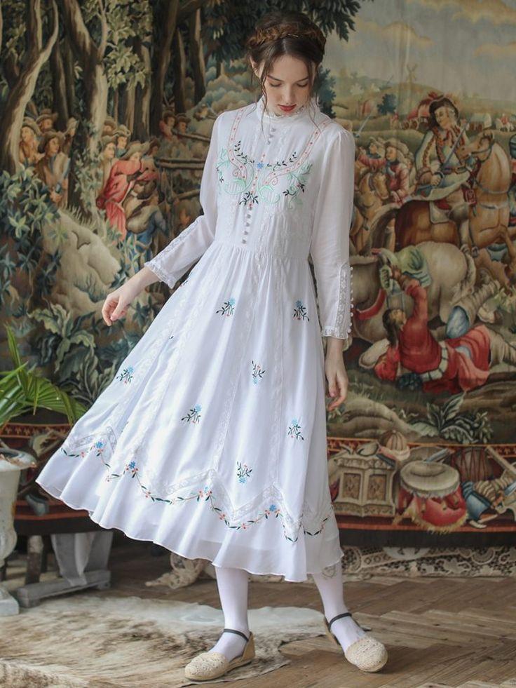 Lianer art dress art dress dresses blue striped dress