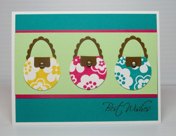 Summer Purses  Cards and Paper Crafts at Splitcoaststampers