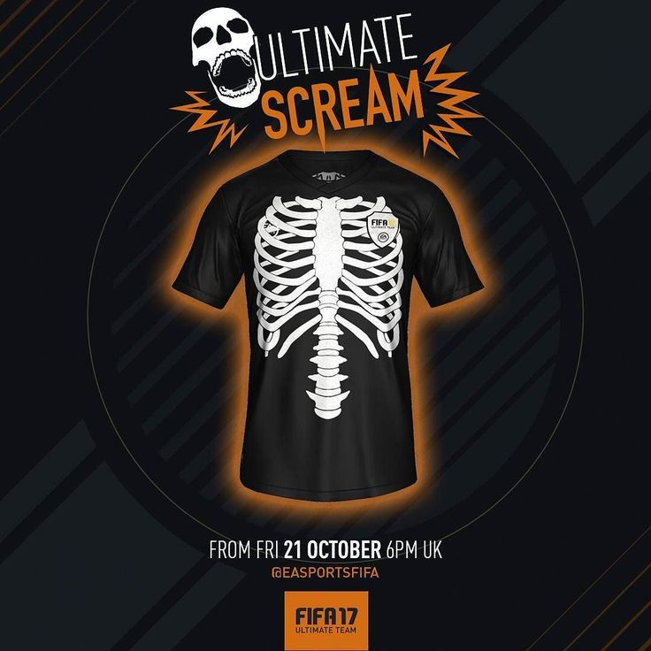 #UltimateScream #FIFA17 #FUT #Halloween #easportsfifa