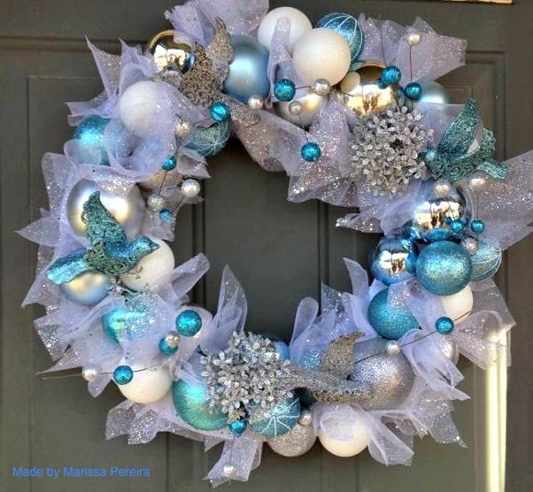 Beach Christmas Wreath