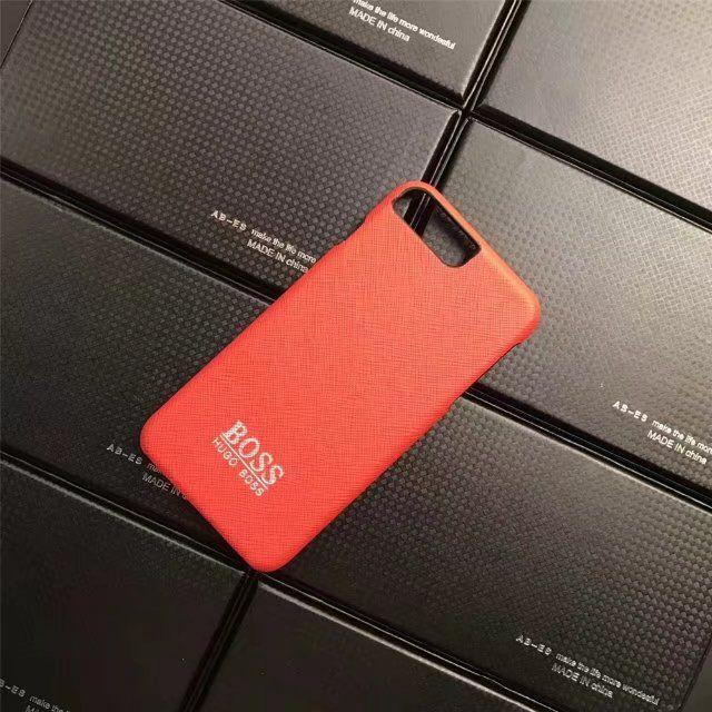 HOGO BOSSヒューゴ・ボス 革製iPhone8/7s/7/7plusケース