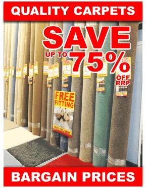 Pick up an amazing Carpet deal from Clitheroe Carpet Warehouse, choose from hundreds of Roll-ends, Kitchen Vinyls and Laminate flooring