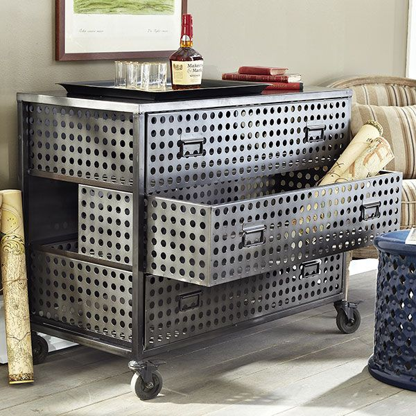 Wisteria   Furniture   Shop By Category   Dressers U0026 Chests   Industrial  Locker Chest