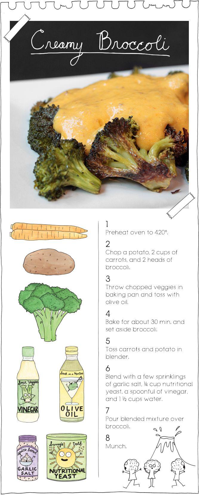Creamy Broccoli                                                                                                                                                     More