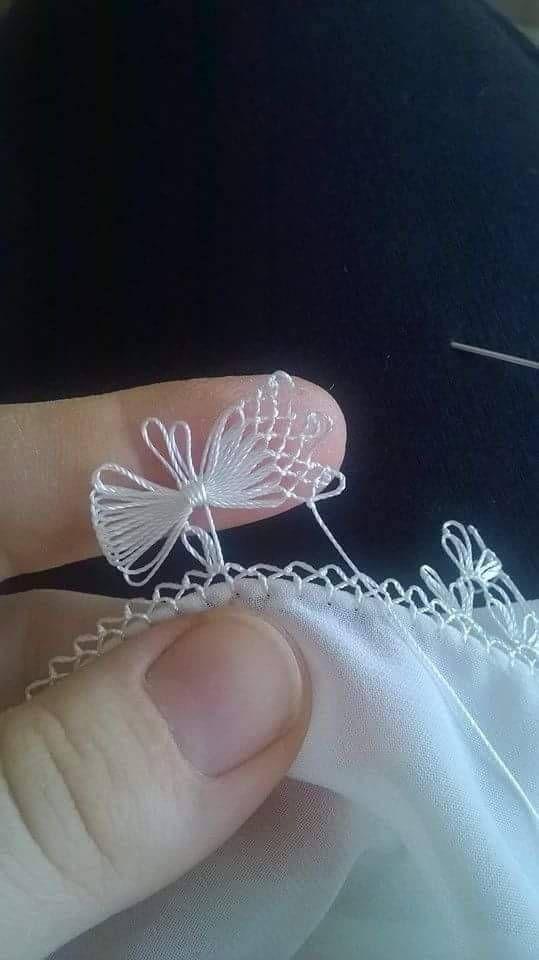 Kelebek oyası yapımı 3