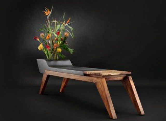 Wonderful This Unique Bench Doubles As A...Planter? Awesome Ideas