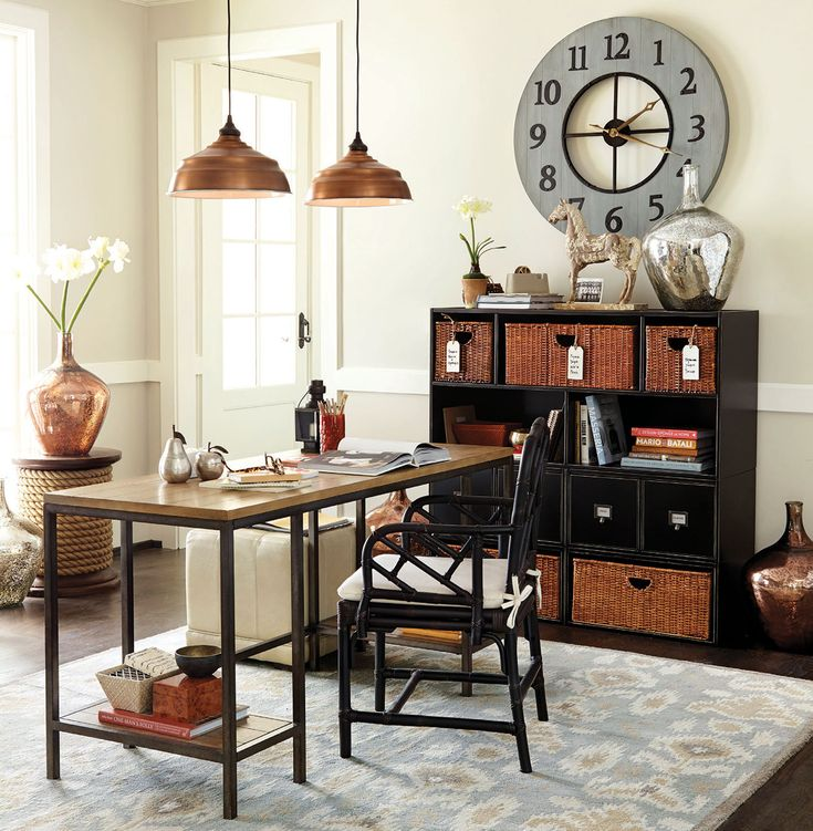 Ideas For Decorating Home Office Space: Office And Work Spaces Decorating Ideas