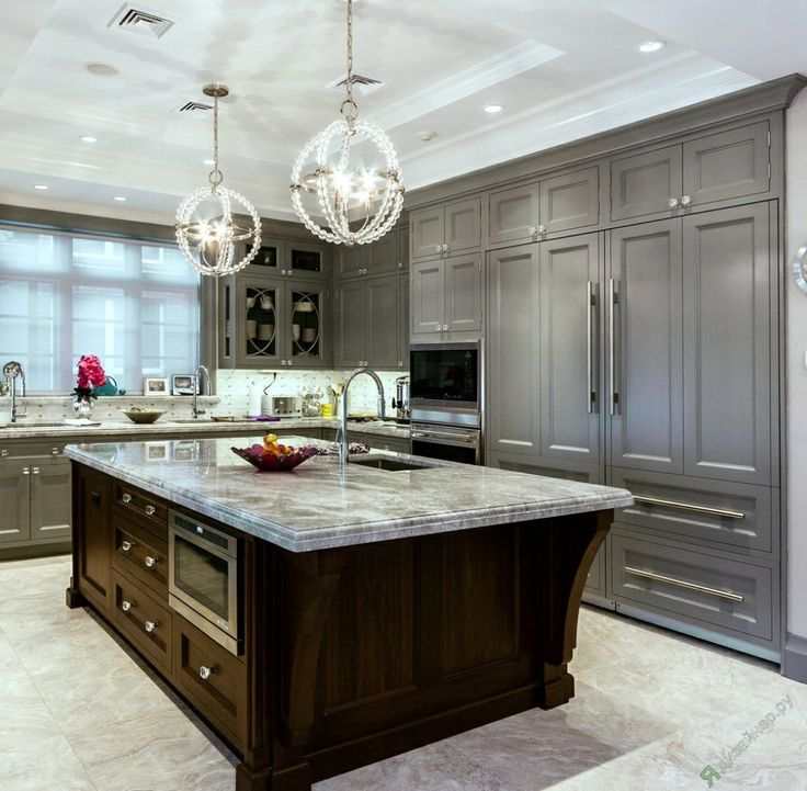 Top 50 Best Grey Kitchen Ideas: 23 Best Kitchen Islands: Different Color Images On Pinterest