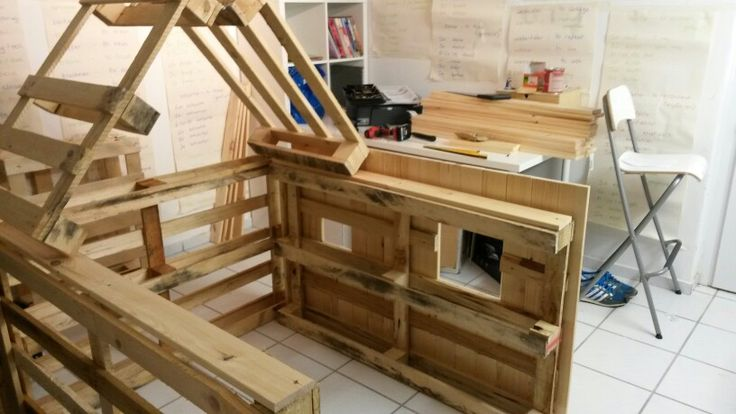 The 36 best images about pallet wendy houses on pinterest for Building a wendy house from pallets
