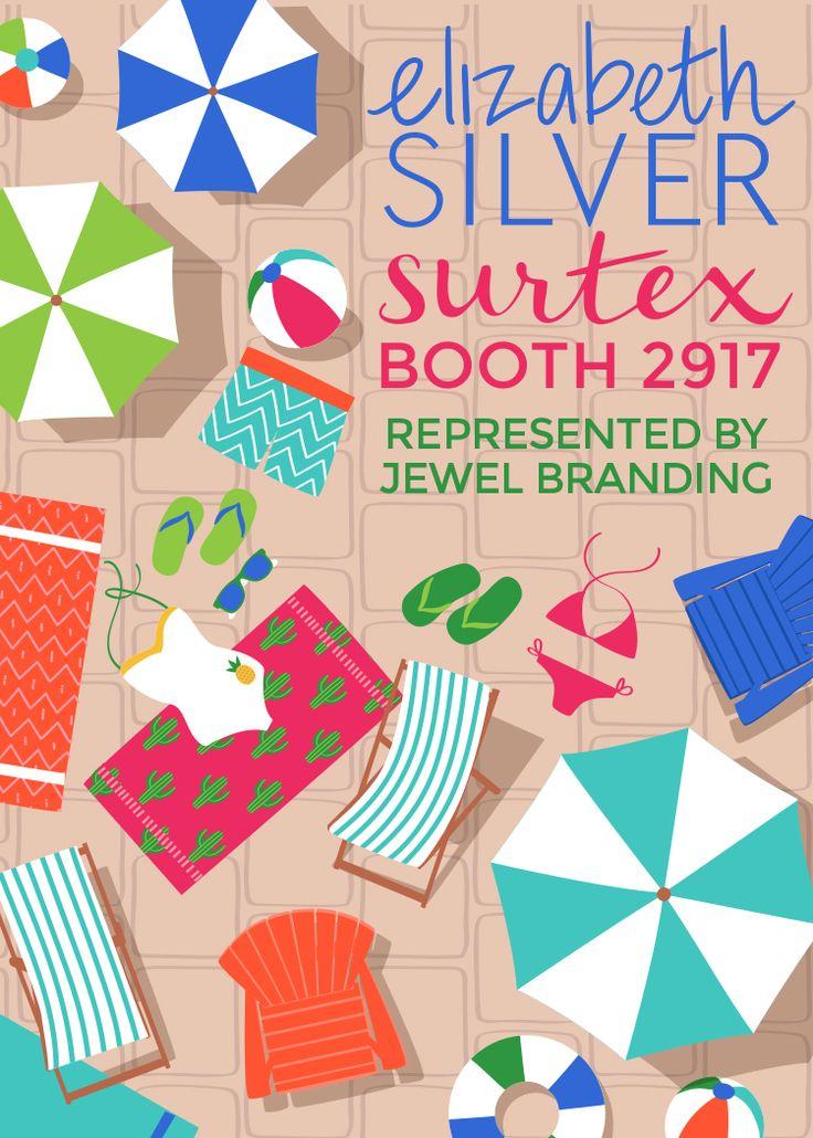 See Elizabeth Silver's portfolio at Booth 2917: Surtex 2017