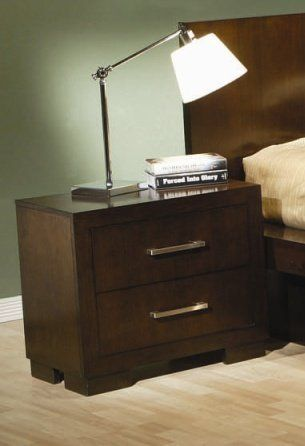 Sutherland Cappuccino Finish Nightstand Coaster 200712 By Coaster Home Furnishings